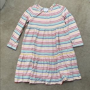 Hanna Andersson 100% cotton rainbow twirl dress